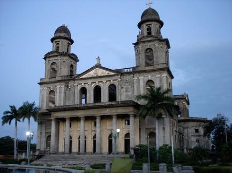 Catedral Vieja de Managua