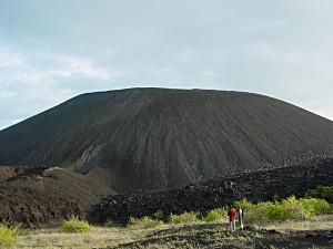 El volcán Cerro Negro