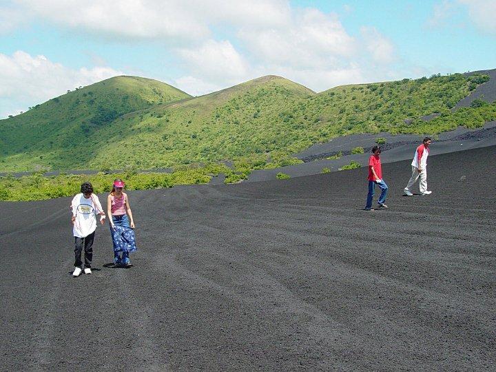 Sand Boardind volcan cerro negro
