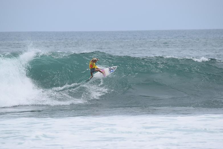 Es una playa con potencial turistico para el surfing