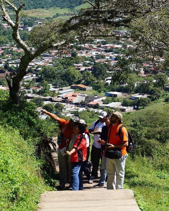 Esccalera cerro de la cruz Jinotega