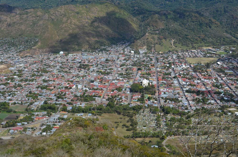 Vista de la ciudad Jinotega