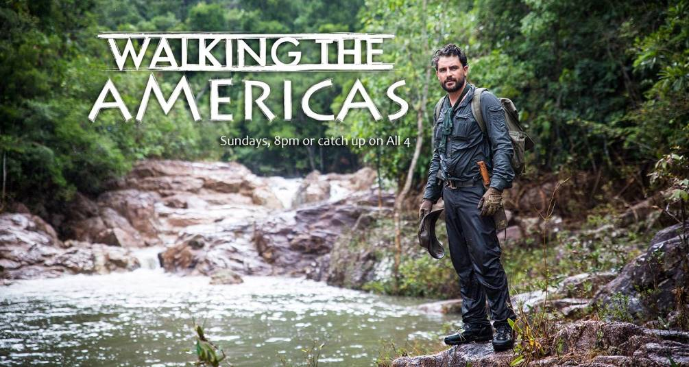 Walking in the americas banner