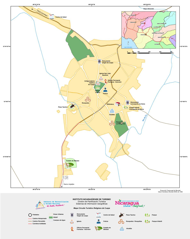 Circuito W Mapa : Mapa nacional del patrimonio cultural natural y turístico