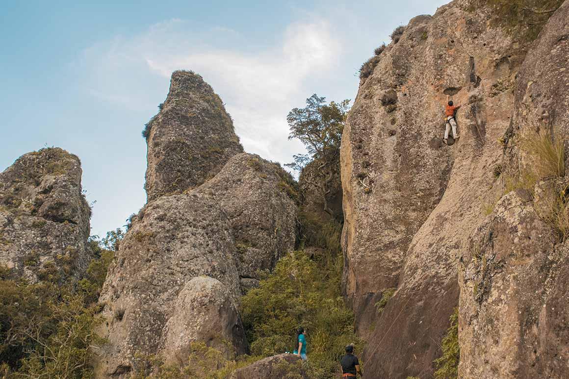 Escalando en Matagalpa