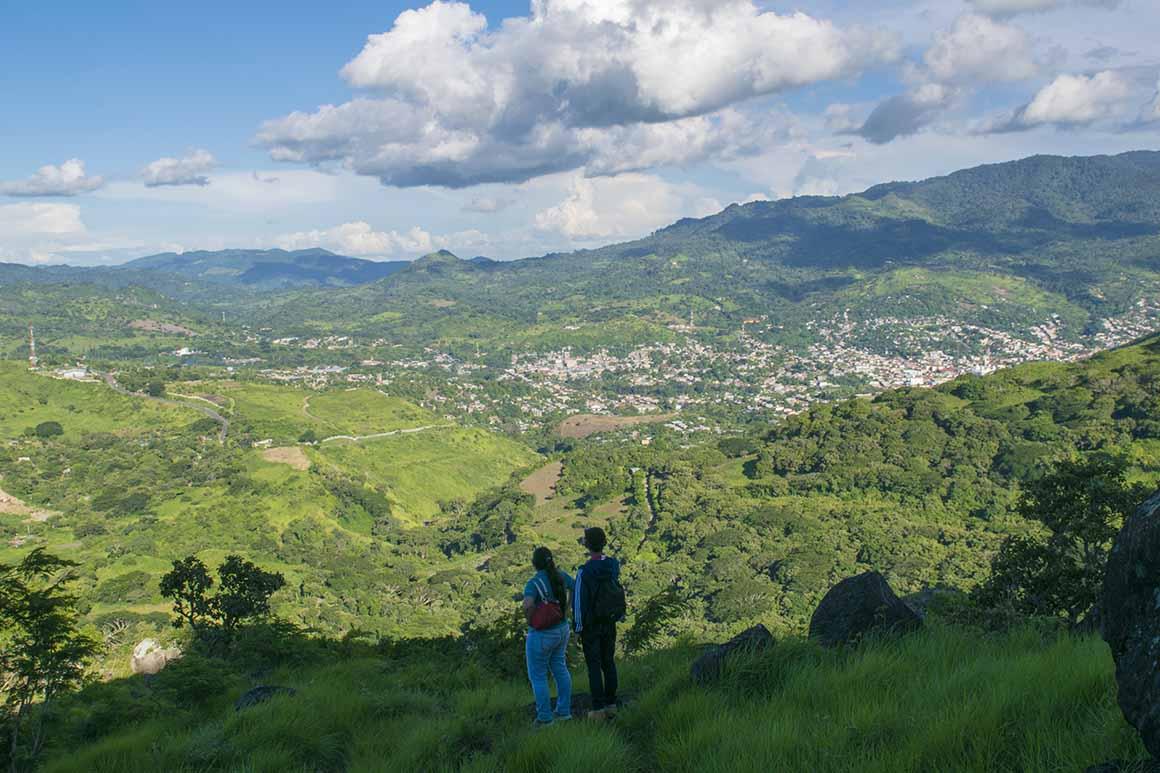 Vista de Matagalpa