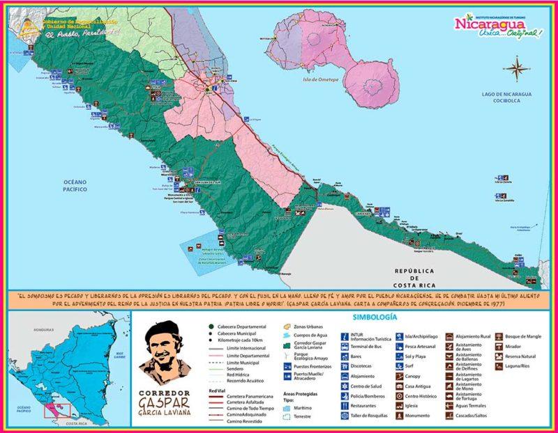 Mapa-Corredor-Gaspar-Garcia-Laviana