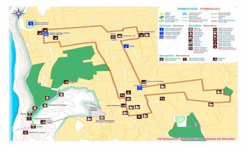 Mapa-Petroglifos-Cailagua-Masaya