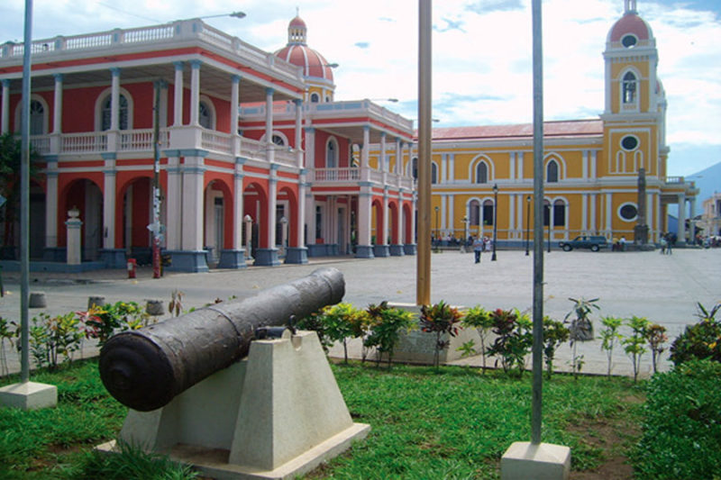 Plaza-Independencia-Nicaragua-Granada