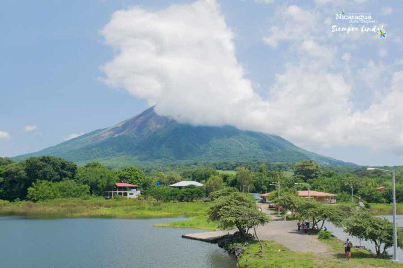 Ojo de Agua Ometepe nicaragua
