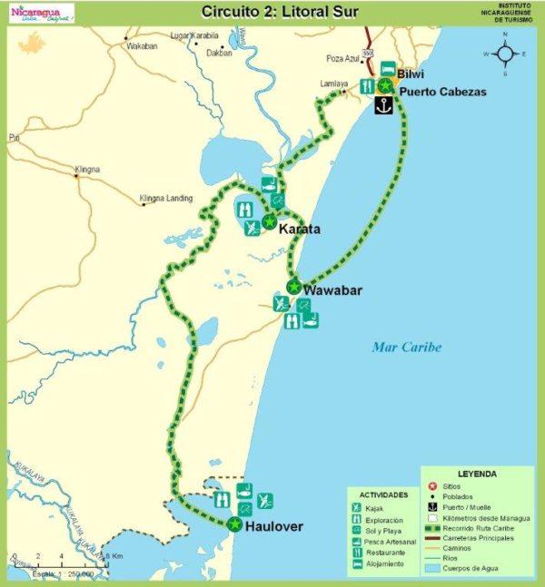 Mapa-Circuito-Litoral-Sur-Costa-Caribe