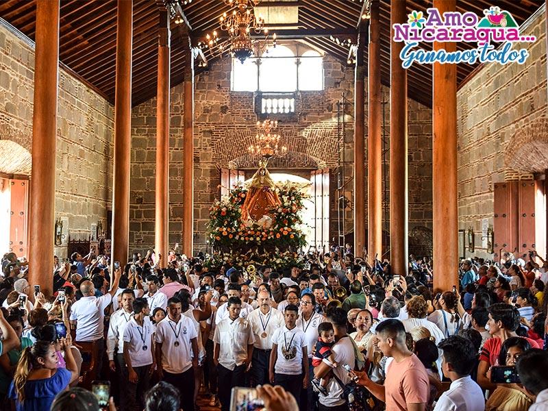 virgen de la candelaria Granada Nicaragua