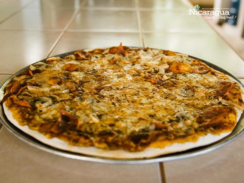Pizza-italiana-La Brique