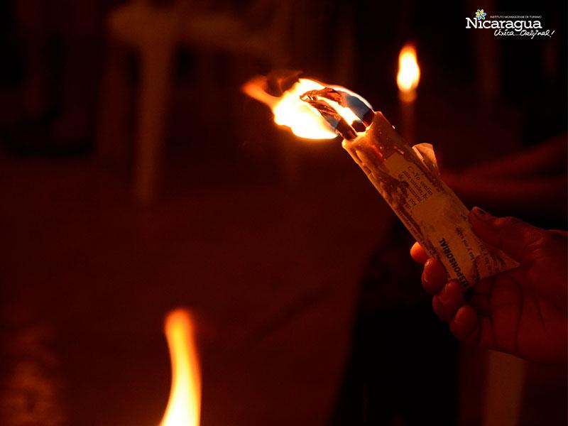 candela de cebo tradicion granada