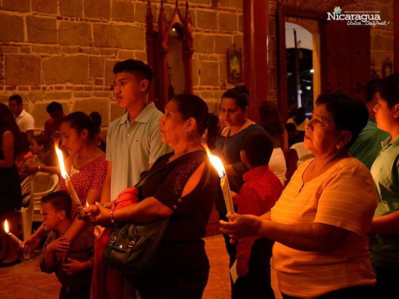 devotos de la virgen de candelaria