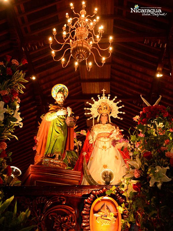 virgen candelaria-altares