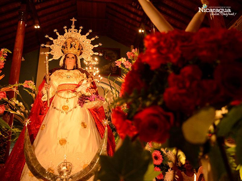 virgen de candelaria altar mayor
