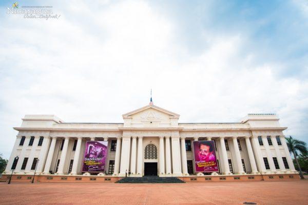 Managua - Catedral de Managua, Palacio Nacional y Casa de los Pueblos