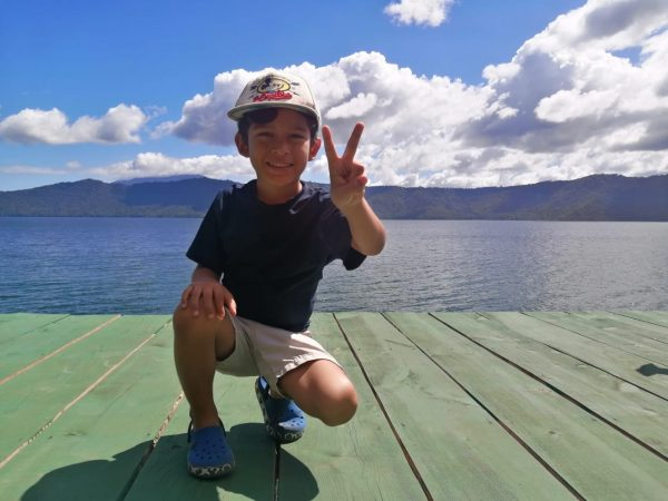 Diego, laguna de Apoyo